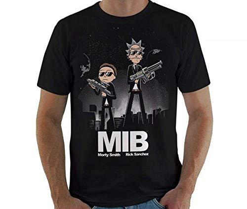 Camiseta Rick And Morty In Black Cor:preto;tamanho:m