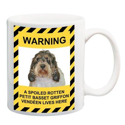 Petit Basset Griffon Vendeen Spoiled Rotten Coffee Tea Mug 15 oz