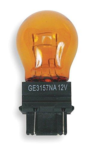 (2) GE 3157NALL Miniature Lamp Bulb 27w 8w Plastic Wedge 12 volt S8! .#GH45843 3468-T34562FD323206