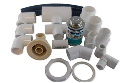 Jacuzzi BMH repair kit with flex glue almond HC31914 with dvd tutorial (Jet For Whirlpool Bathtub)