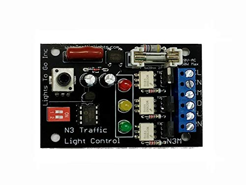 Led Traffic Light Sequencer