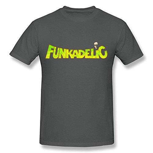 Kazzar Men's Funkadelic Band Logo Vincent T Shirt (Funkadelic T Shirt)