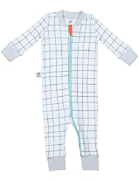 papallou Baby Boy Girl Sleepy Face Print Pajama Set