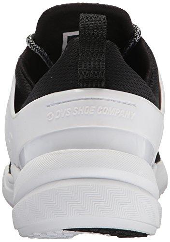 Dvs Footwear Herren Herren Cinch LT + Skate Schuh Schwarz / Weiß Mesh