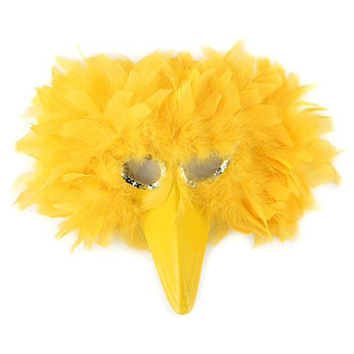 Zucker Feather Products Turkey Feather Big Bird Mask
