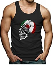 The Mexican Women's National Team have begun their quest for the 2015 Women's Championship. Show your support by wearing our unique Mexican mascot skull flag skull Apparel. Premium quality classic tank top. 100% combed-cotton (preshrunk,) mac...