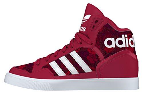 adidas Extaball W, Zapatillas de Deporte Unisex Adulto Rojo (Rojfue / Ftwbla / Tintec)
