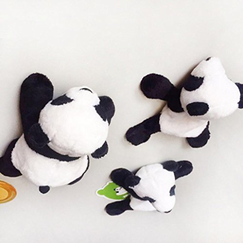 DEESEE(TM) New1Pc Cute Soft Plush Panda Fridge Magnet Refrigerator Sticker Gift Souvenir Decor by DEESEE(TM)_Home (Image #5)