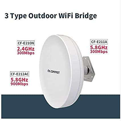 2 4ghz,5G Outdoor CPE WiFi Router 300mbps,900mbps 1-2km Long