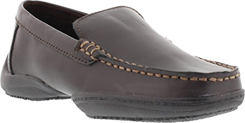 (Kenneth Cole Reaction Driving Dime Moccassin (Little Kid/Big Kid),Dark Brown,7 M US Big Kid)
