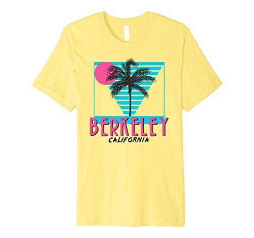 rnia T Shirt Retro CA Cool Medium Lemon (California Yellow T-shirt)