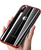ANOLE Case for Apple iPhone Xs Max/XS/XR/X, Ultra-Thin Clear Soft TPU Slim Cover