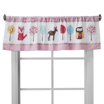 Circo? Woodland Friends Window Valance - 15x54' - Sweet Home Collection - Bedroom & Living room Decor - This is everyday style that makes sense for your life and your home. by Bobfriend