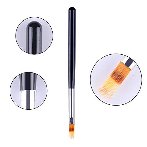 (Gradient Nail UV Gel Brush Drawing Painting Shading Pen Sponge Nail Art Tool DIY (Color - #7))