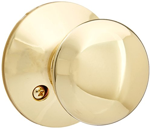 Schlage F94-PLY Plymouth Knob Dummy Interior Pack from The F-Series, Polished ()