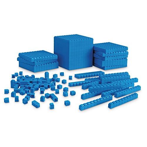 Learning Resources LER6356 Interlocking Base Ten Starter - Starter 1 Set