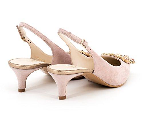 Rose de de Vestir Zapatos para Piel Mujer Lodi xgfOnqw05x