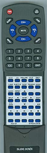 - Replacement Remote for Myron & Davis AD212A
