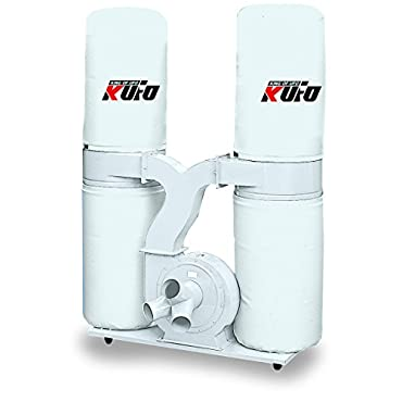 Kufo Seco UFO-102B, 3HP, 1phase 220V 2750 CFM Bag Dust Collector