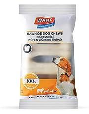 Warf Sığır Derisi Köpek Ödül Kemiği Beyaz 100 Gr (4lü Paket)