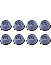 DOITOOL 8pcs Washing Machine Foot Pads Anti- Vibration Washer Pads Heightening Noise Dampening Pads Stabilizer Support Stand for Dryer Home Furnitures