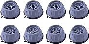 DOITOOL 8pcs Washing Machine Foot Pads Anti- Vibration Washer Pads Heightening Noise Dampening Pads Stabilizer