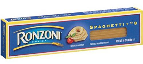 Ronzoni Spaghetti Pasta 16 oz