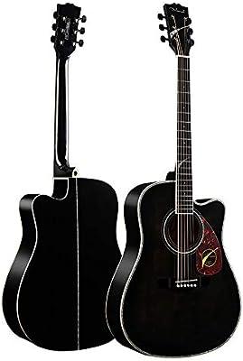 Miiliedy Minimalista Cuatro colores 41 pulgadas Guitarra acústica Principiante Estudiante Adulto Hombre y mujer Práctica de autoestudio Profesional Tocando guitarra acústica con estuche de guitarra Co: Amazon.es: Instrumentos musicales