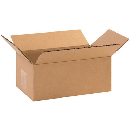 50 Boxes- 10x6x4 Carboard Shipping Boxes Packing Corrugated - Shipping Rates International Usps