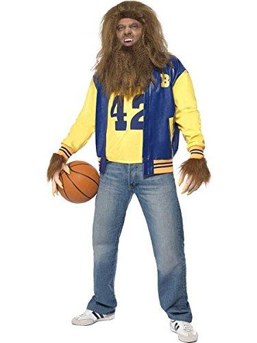 Smiffys Men's Yellow/Blue Teen Wolf Costume - Chest 42