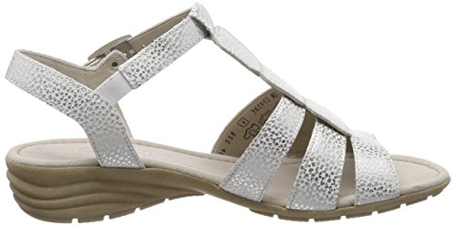 Cuña Fitting sandalias 24 Del ice cómodo Gabor plana sandalias Verano Blanco Mujer De 550 zapatos übergrößen Cuña best sandalias wqtqZAX