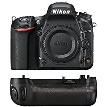Nikon D750 FX-Format Digital SLR Camera Body + Nikon MB-D16 Battery