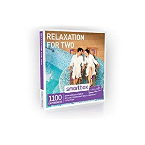 Buyagift Relaxation for Two Gift Experiences Box – Over 1100 revitalising spa days and beauty treatments for couples to choose from and share