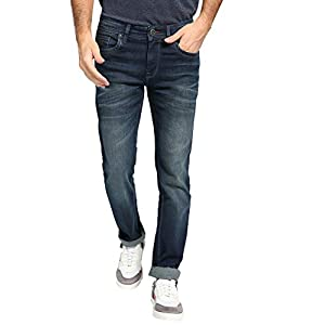Bare Denim by FBB Washed Mid-Rise Jeans