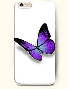 New Case Cover For LG G3 Hard Case Cover - Purple Butterfly