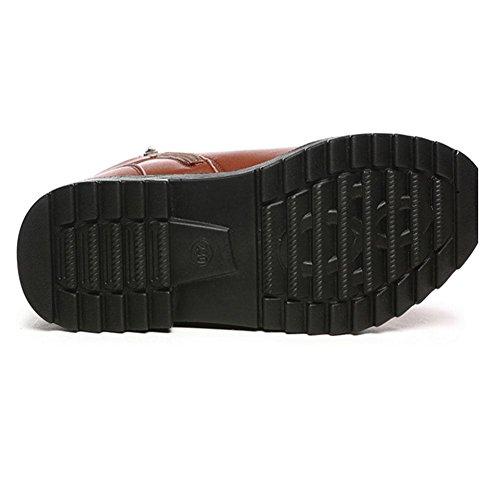 37 protezione caldo donna Acqua caviglia Stivali piatta testa da Inverno a fredda della 578OxqOawz