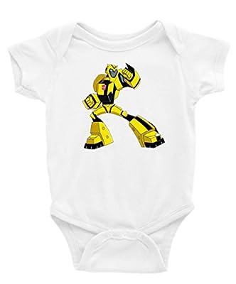 Bumble Bee Transformers Short Sleeves Unisex Baby/Toddler Onesie
