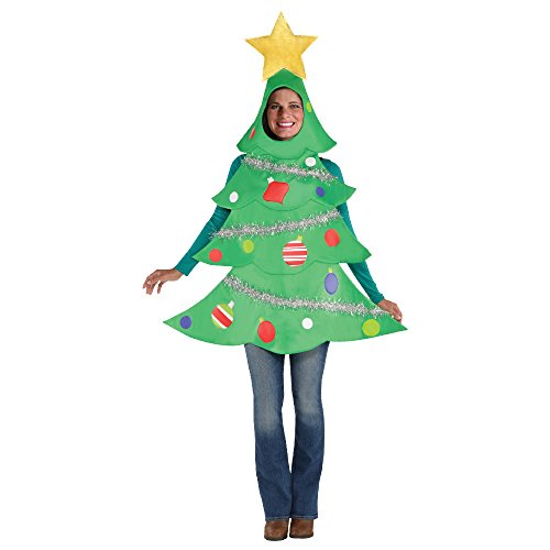 SP funworld Adult Unisex Christmas Tree Costume -