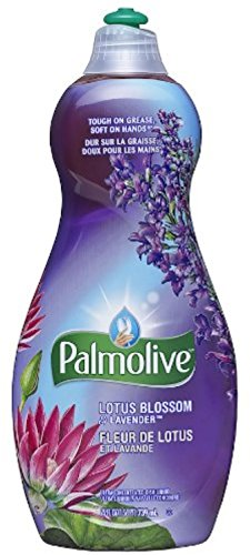 Colgate Ultra Dishwashing Liquid - Palmolive Ultra Dish Liquid, Lotus Blossom & Lavender 25 oz (Pack of 4)