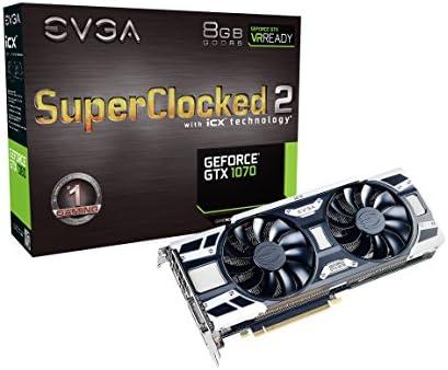 EVGA 08G-P4-6573-KR - Tarjeta gráfica (GeForce GTX 1070, 8 GB ...