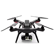 3DR Solo Drone with Pre-Installed Gimbal and Backpack Accessories, Black, Full-Size