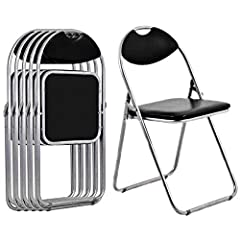 Our 6 Pieces Folding Chairs. Perfect Choice For The Outdoor Activities, Such As Picnic And Party, Since Our This Chair Is Folding, And It Is Portable. One Order Will Have 6 Chairs Comfortable Seats For Your Whole Family And Give You A Happy T...