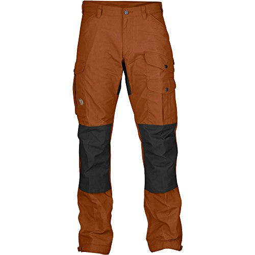 Fjallraven Vidda Pro Trousers - Men's Autumn Leaf / Dark Grey 54 EU by Fjällräven