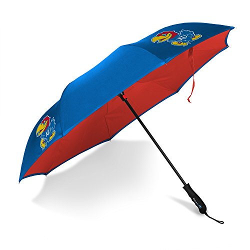 (Betta Brella NCAA Kansas Jayhawks Better Brella Wind-Proof Umbrella)