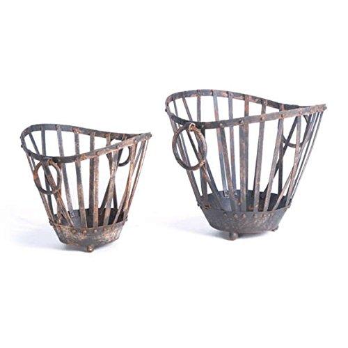 Hip Vintage Market Baskets (Set of 2)