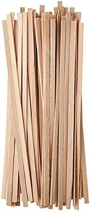 Tops Agitadores de café descartáveis, madeira, 100 unidades
