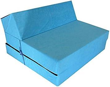 longueur 160 cm Natalia Spzoo/® Matelas de jeunesse lit fauteuil futon pliable pliant choix des couleurs Rose