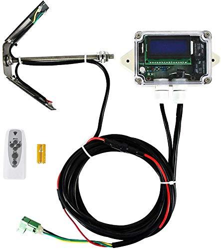 ECO-WORTHY Single/Dual-Achsen Solar-Tracker Linear-Stellmotor-Controller für Solarpanelsystem