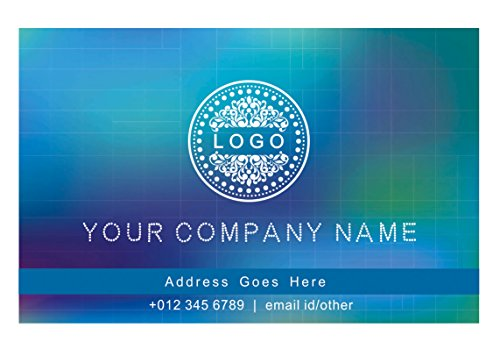 Classic Business Cards - Design Your Own Personalised Business Cards Custom Professional Classic Design Visiting Card- Front-110 LBS -Thick paper