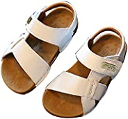 EsTong Sandals for Toddlers Baby Boys Girls Anti-Slip Summer Shoes with Soft Sole